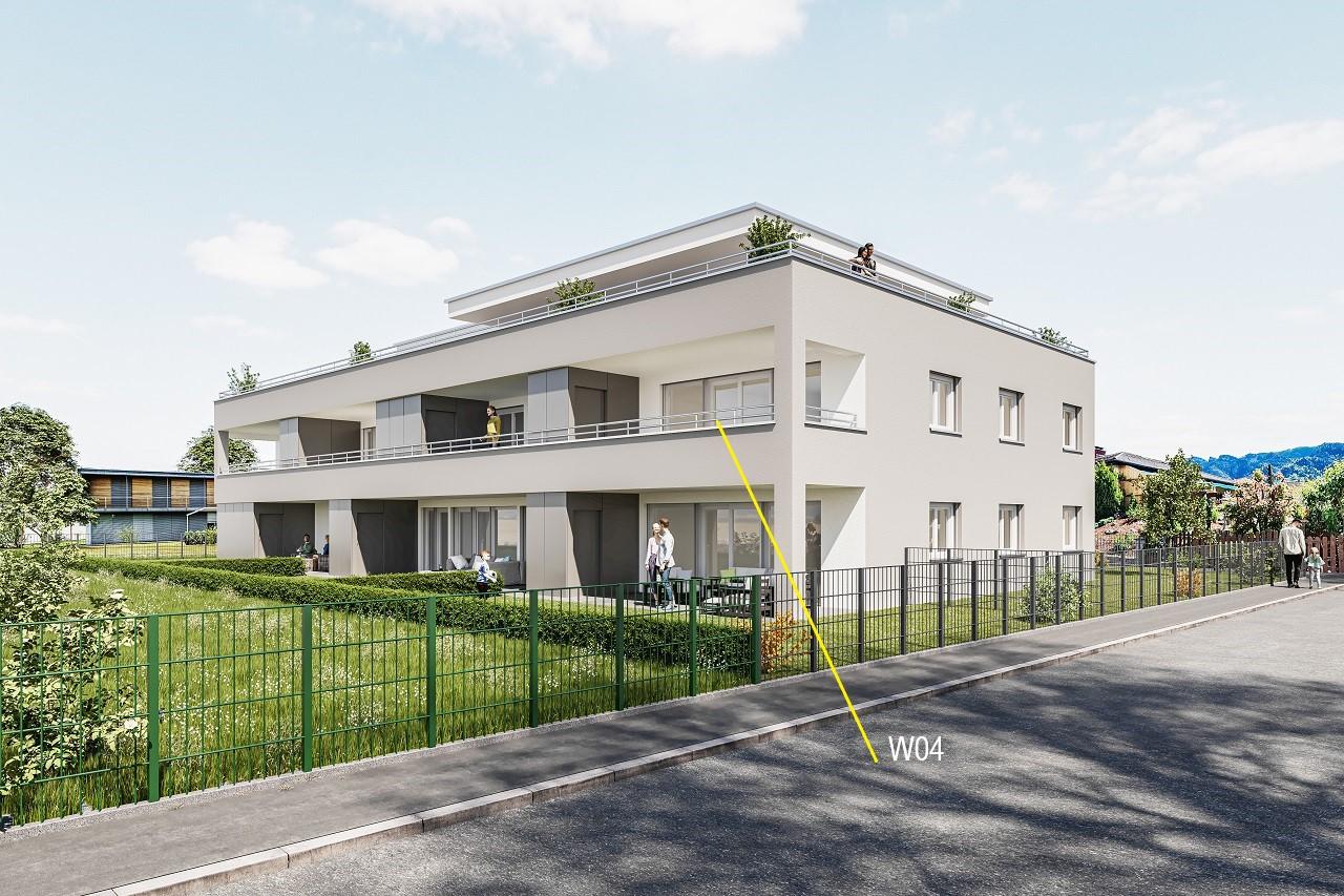 Terrassenwohnung W04